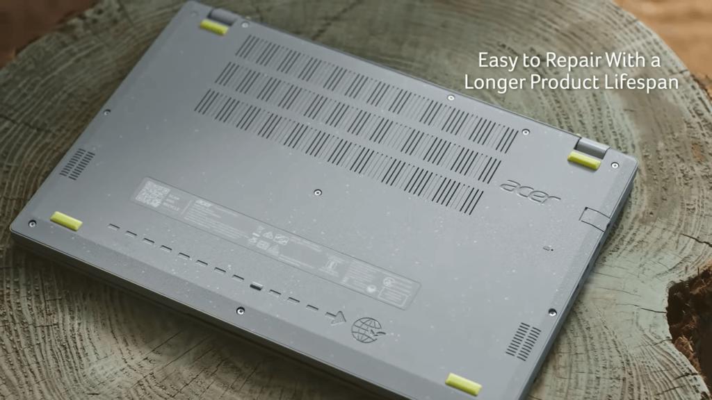 Acer Aspire Vero laptop screws