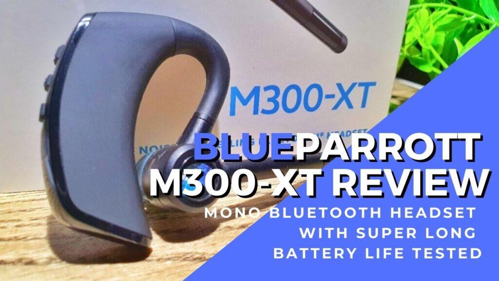 BLueParrott M300 XT cover review