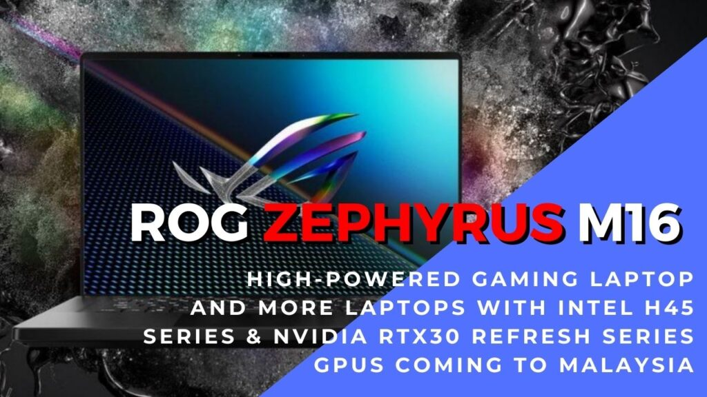 ROG Zephyrus M16 hero box