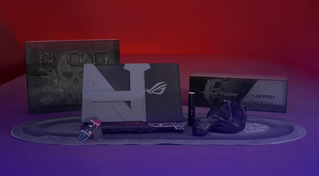 ASUS Republic of Gamers have crafted a concept gaming laptop exclusively for him dubbed the ROG Strix Nyjah Huston Special Edition. all items