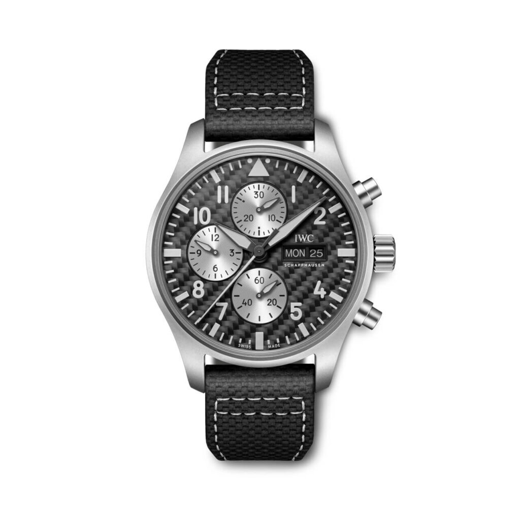 Pilot's Watch Chronograph Edition AMG front view