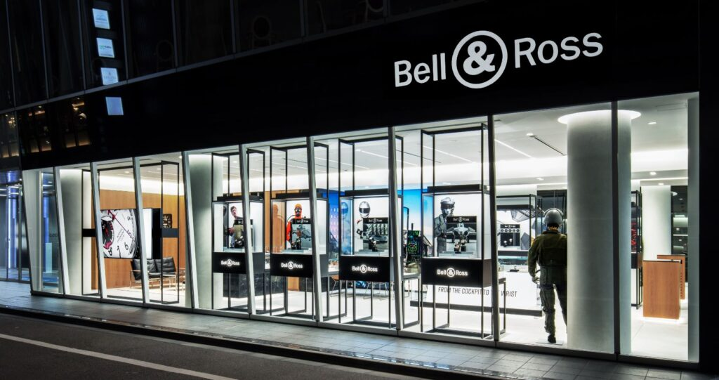 Bell & Ross Tokyo boutique cover