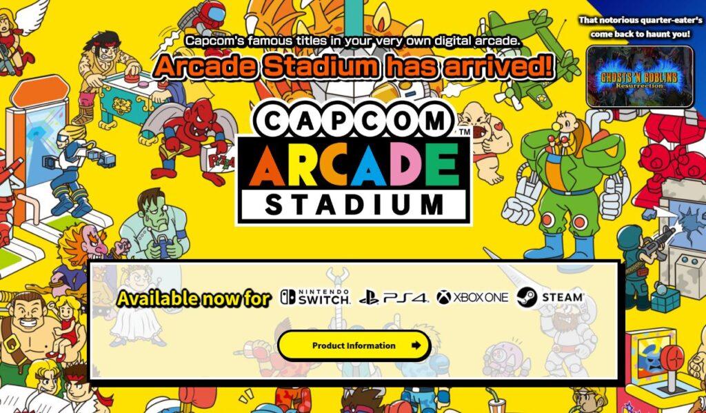 capcom arcade collection box