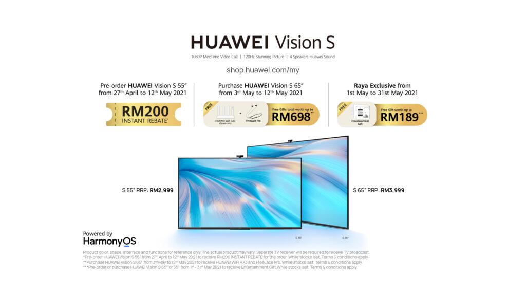 Huawei Vision S Smart Screens promo