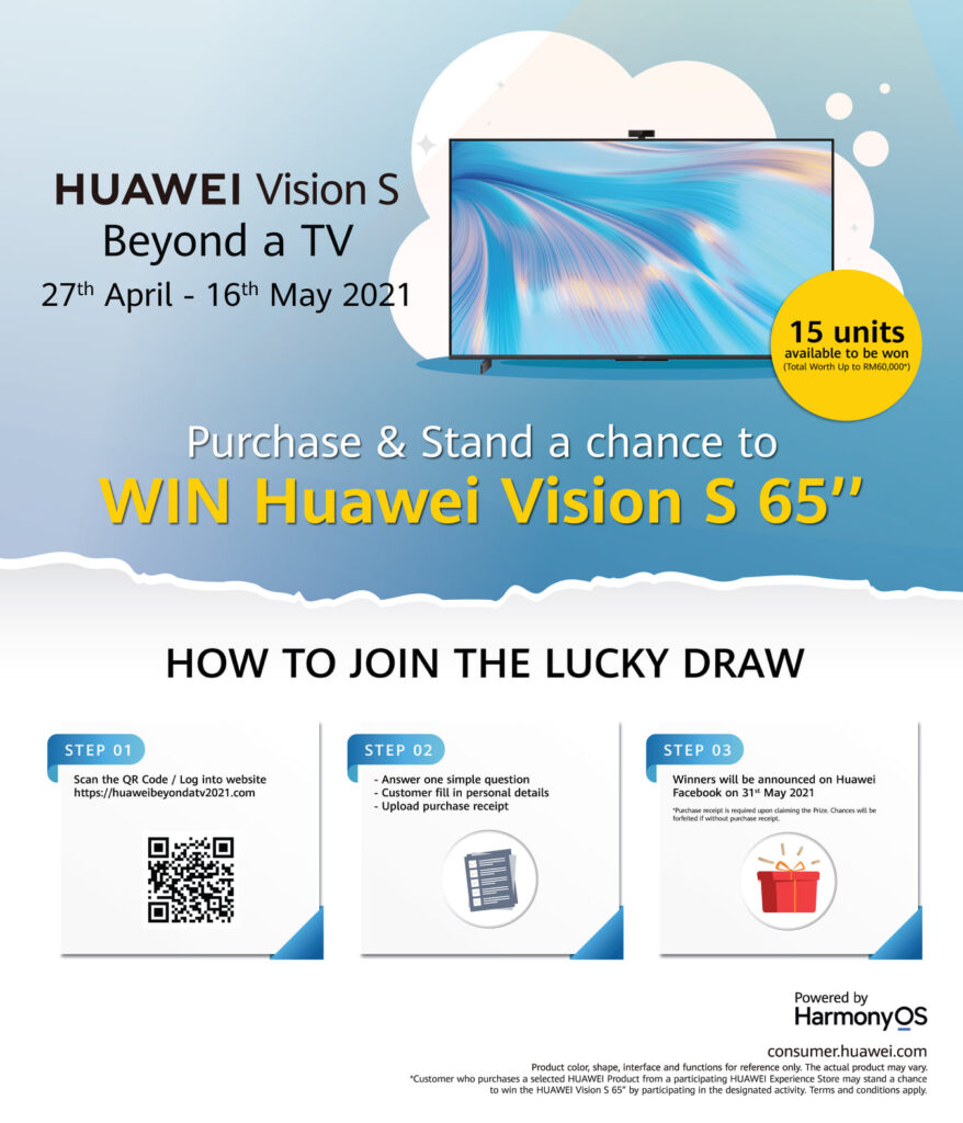 Huawei Vision S Smart Screens large
