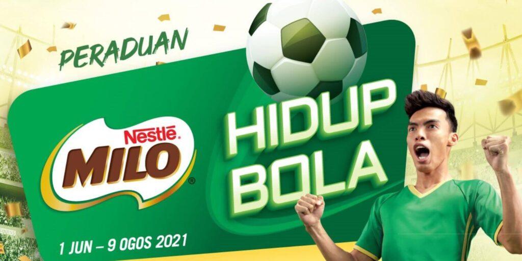 MILO Hidup Bola contest
