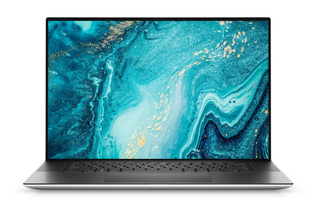 Dell XPS 17 2021 front