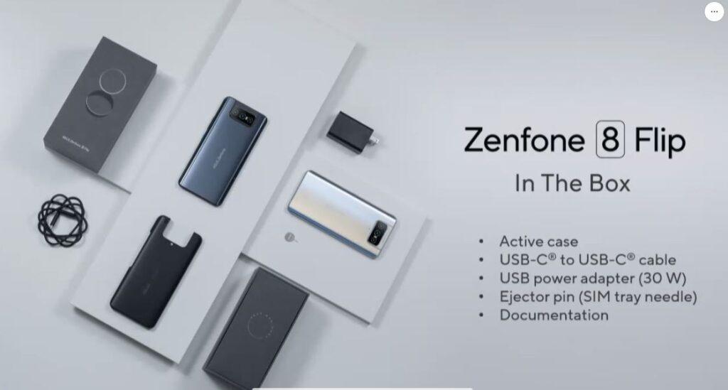 zenfone 8 flip box