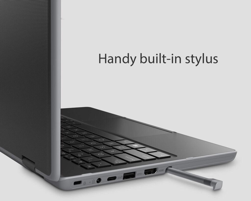 ASUS BR1100F student laptop stylus