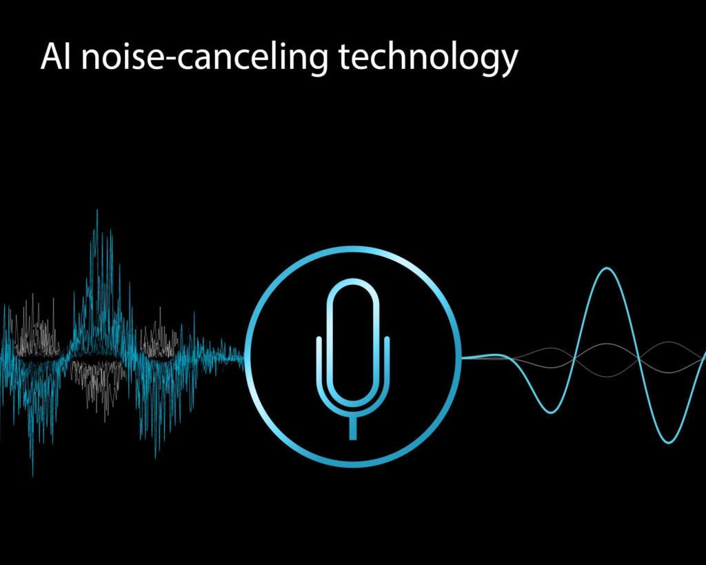 ASUS BR1100F student laptop noise cancelling tech