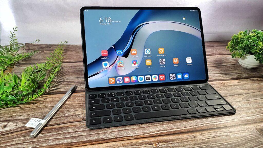 Huawei MatePad Pro 12 angled hero