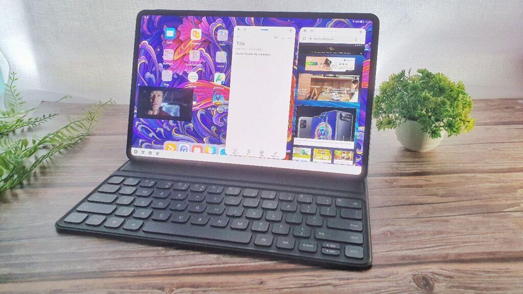 Huawei MatePad Pro 12.6 Review multi app open