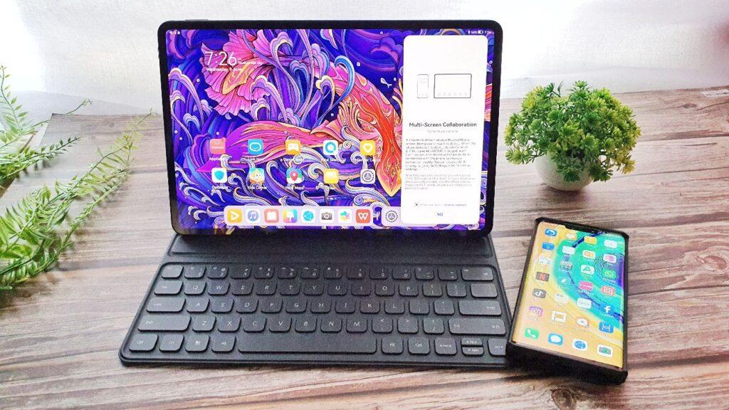 Huawei MatePad Pro 12.6 Review multiscreen