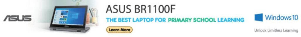 ASUS BR1100F student laptop