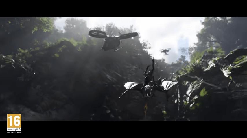 Avatar Frontiers of Pandora fight 1