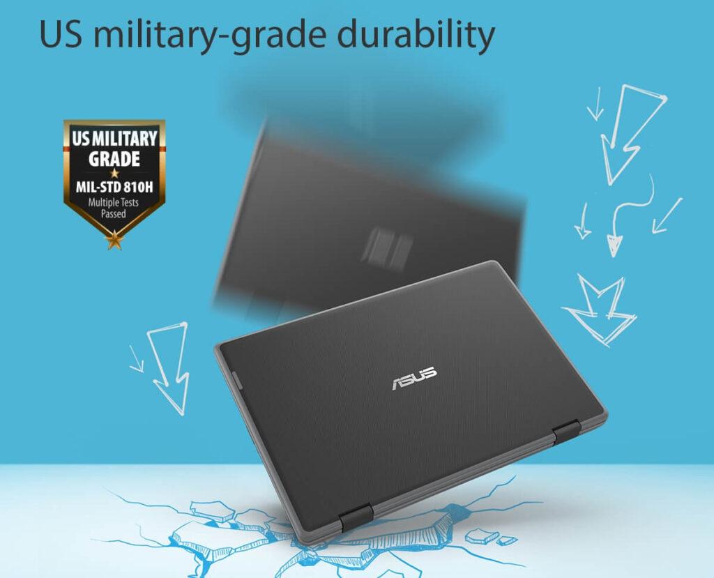 ASUS BR1100F student laptop tough