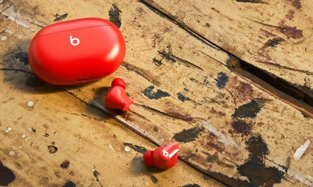 Beats Studio Buds ambient red