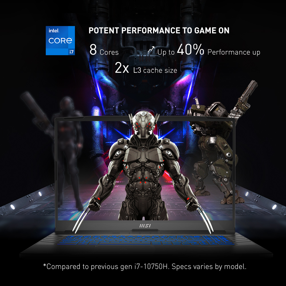 MSI Pulse GL76 intel