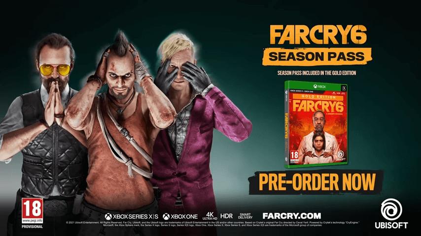far cry 6 season pass cover