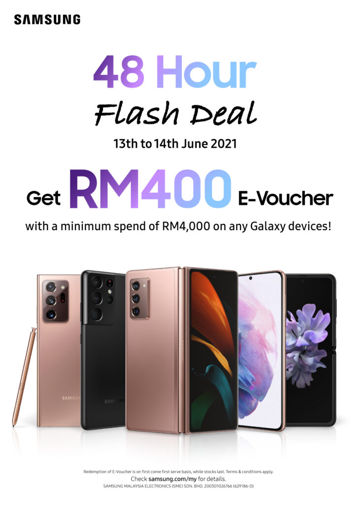 Samsung 48 Hour Flash Deal