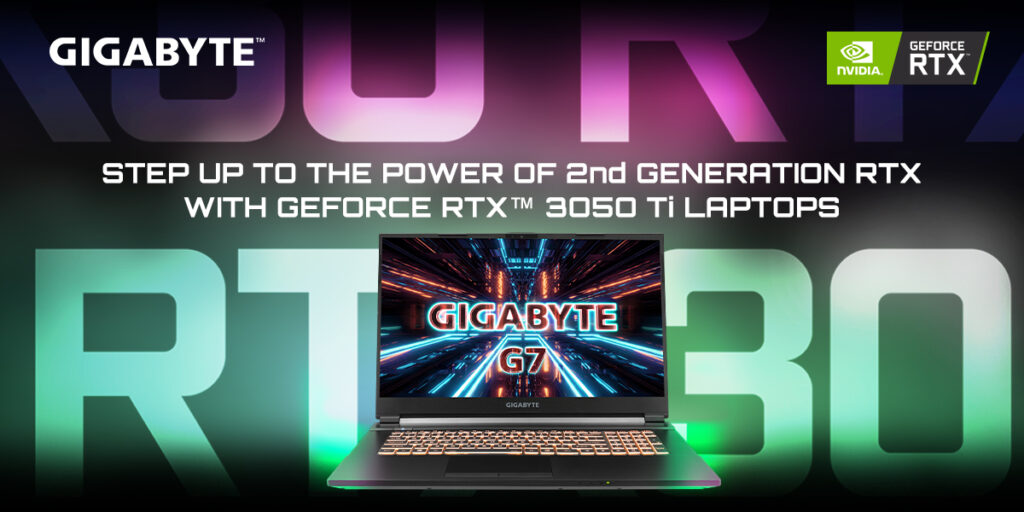 gigabyte G7 step up to the power