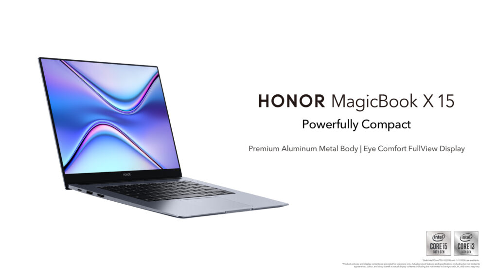 HONOR MagicBook X 15 laptop cover
