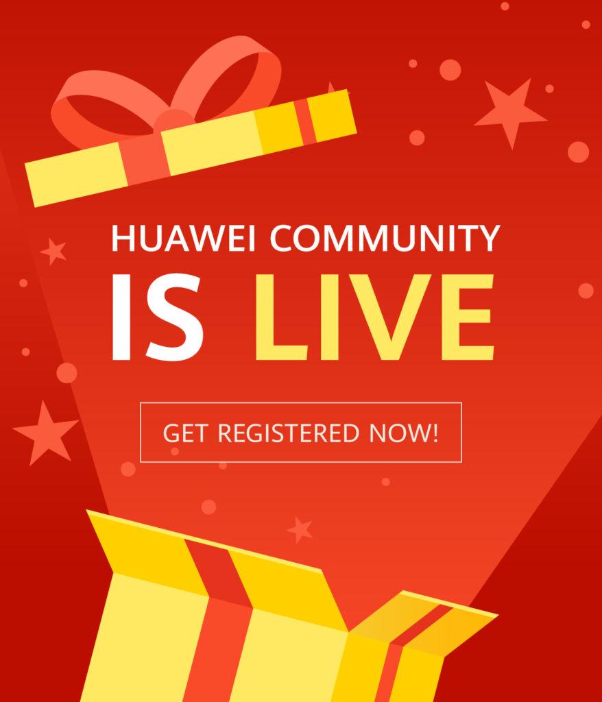 Huawei Community launch