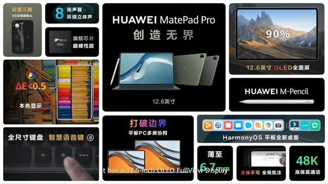 Huawei MatePad Pro 12 item