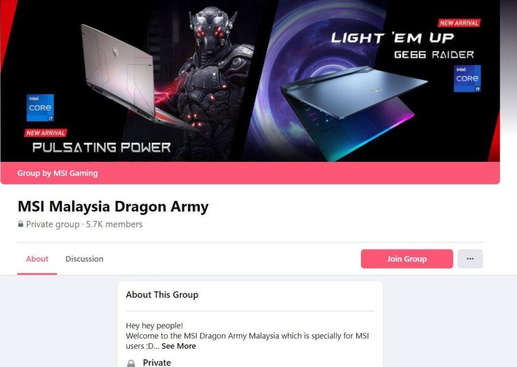 MSI Concept Store FB