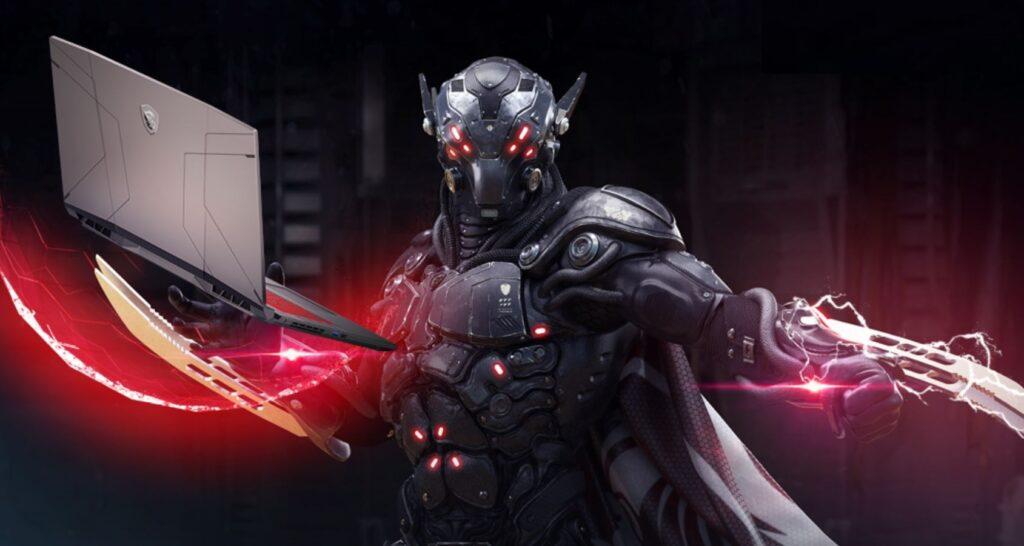 MSI Pulse GL76 Laptop power armour