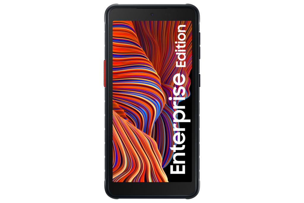 Samsung Galaxy XCover 5 Enterprise Edition phone front render
