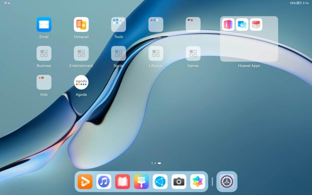 Huawei MatePad Pro 12.6 Review harmony os ui