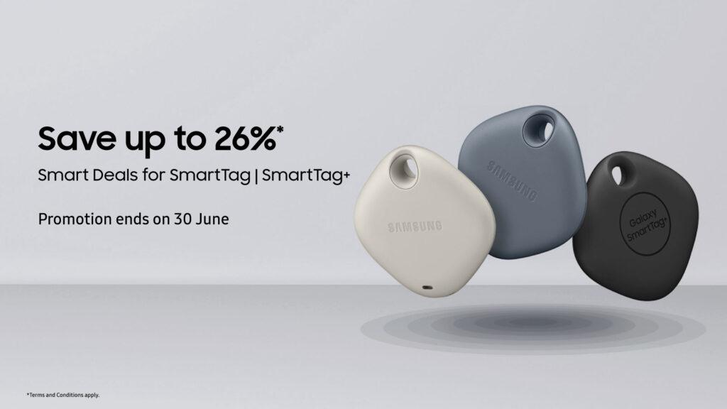 Samsung Galaxy SmartTag+ promo details