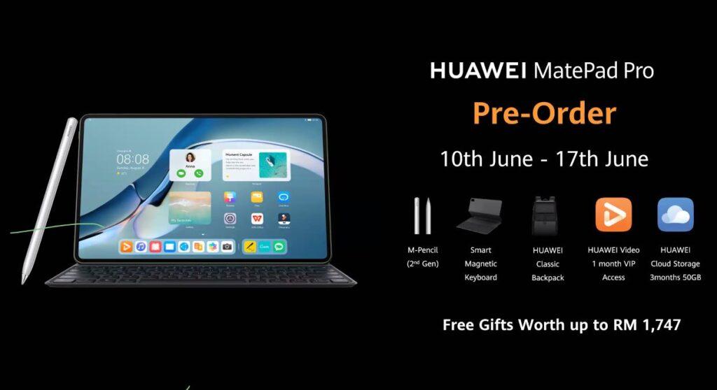 Huawei MatePad 12.6 Free gifts