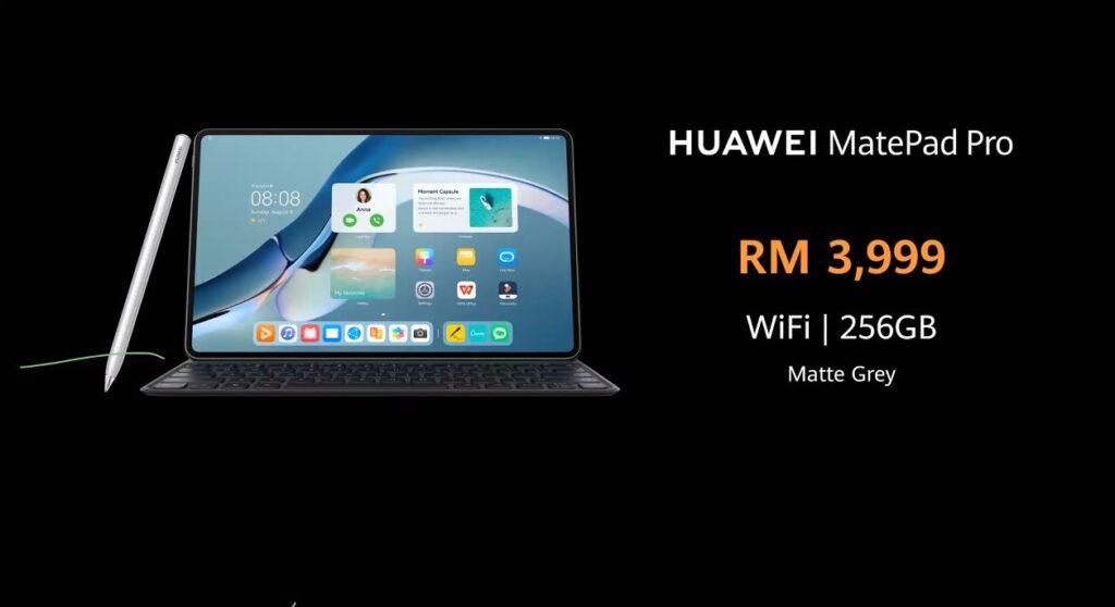 huawei matepad pro 12.6 price