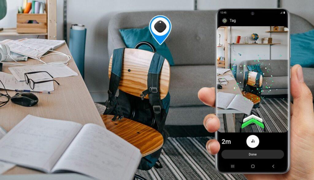 Samsung Galaxy SmartTag+ find demo