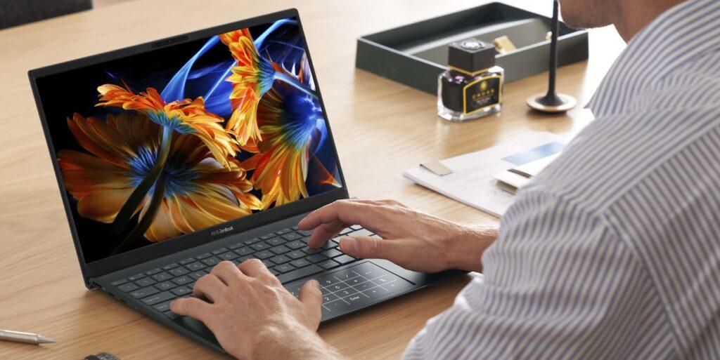 ASUS ZenBook 13 OLED UX325 display