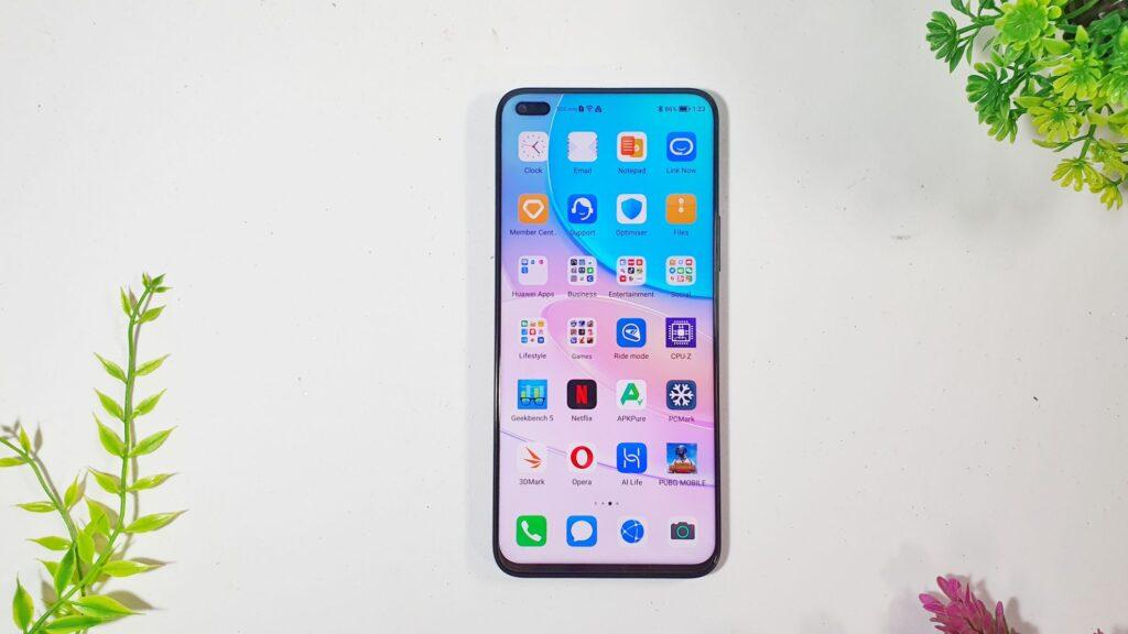Huawei nova 8i Review front