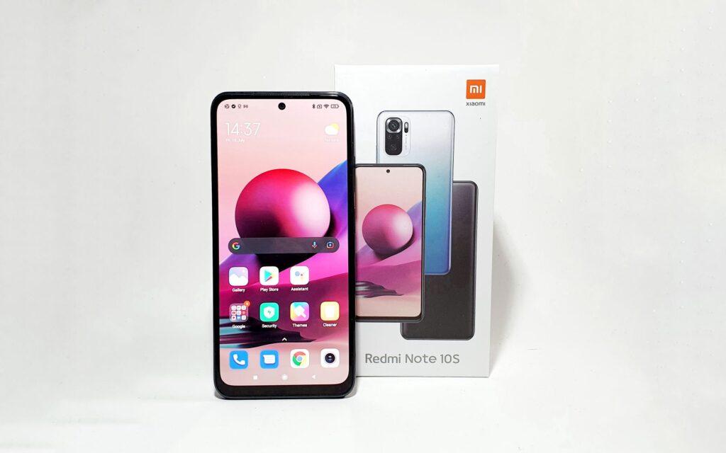 Xiaomi Redmi Note 10S Review box
