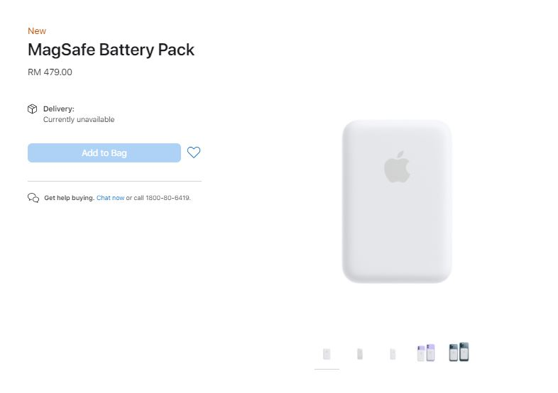 Apple MagSafe Battery Pack price