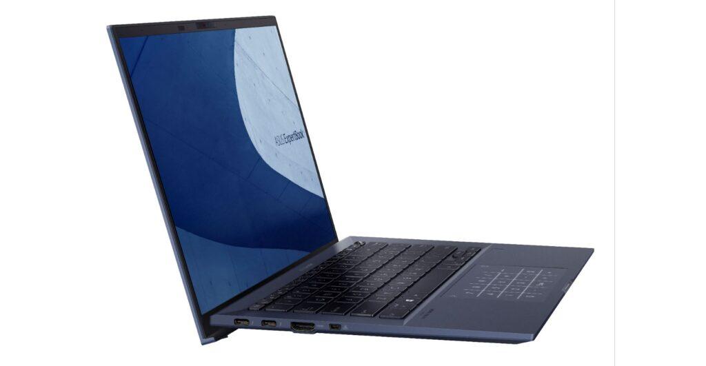 ASUS ExpertBook B9 B9400 ergolift hinge