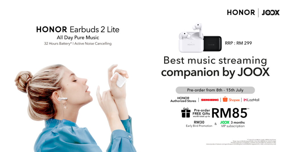 HONOR Earbuds 2 Lite special