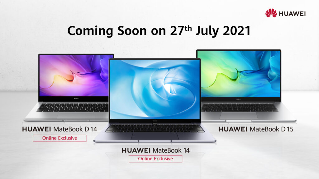 HUAWEI MateBook D14 and MateBook 14 - Online Availability cover