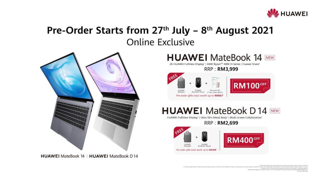 Huawei MateBook 14 preorder