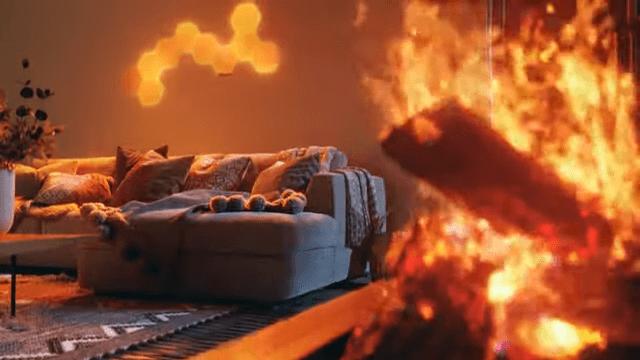 Nanoleaf elements classy fire