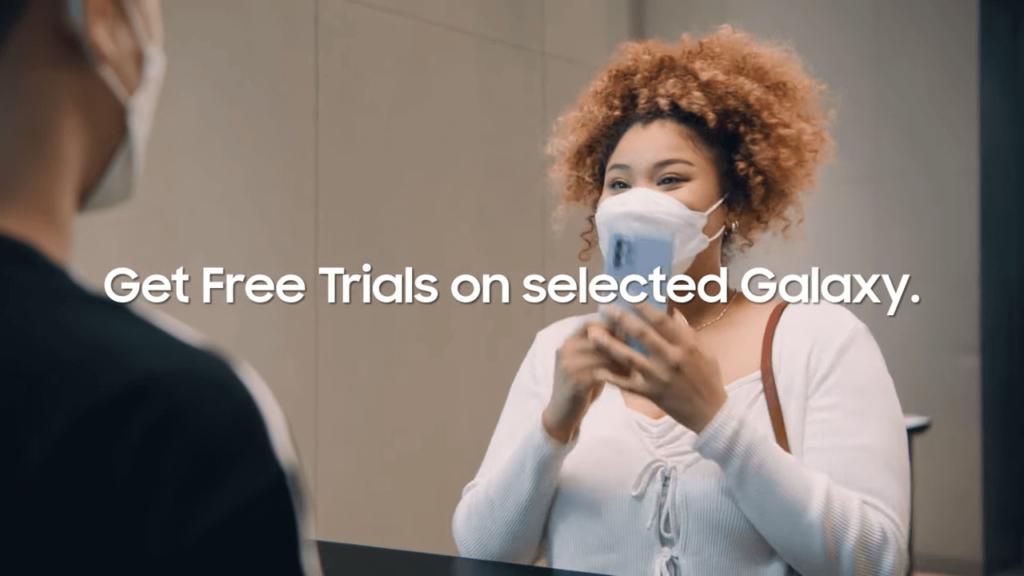 Samsung Advantage perks free trials