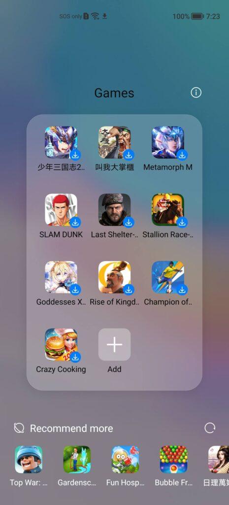 Huawei nova 8i Review apps 2