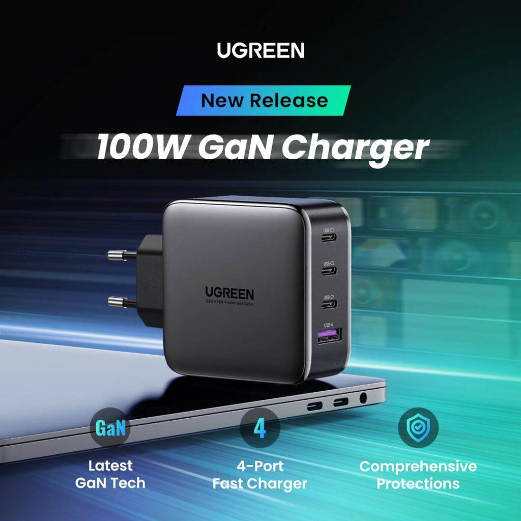 UGREEN 100W Gan charger (1)