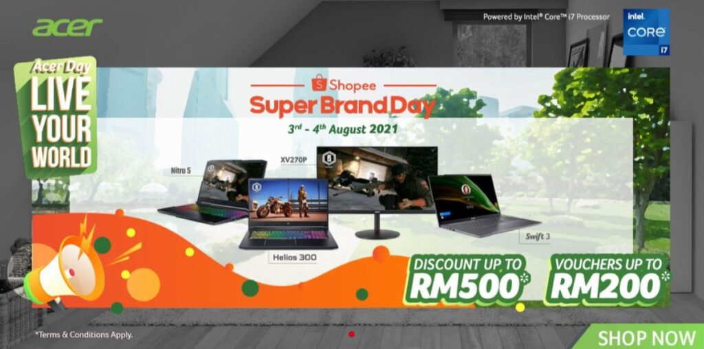 acer brand day 2021