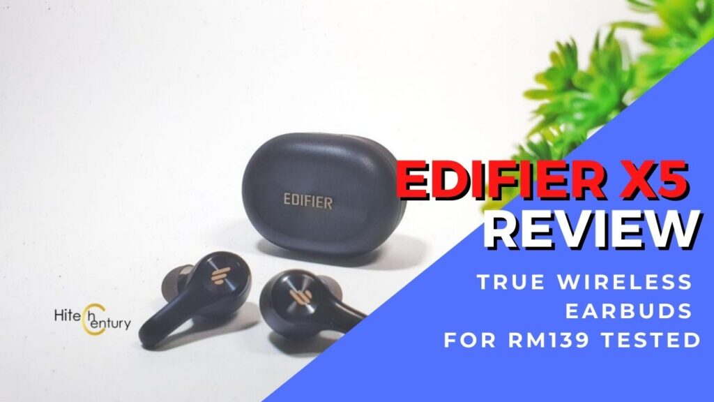 Edifier X5 Review - TWS earbuds packed with value for RM139 1